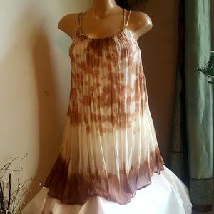 Fabulous and broke tie-dye strappy dress size S